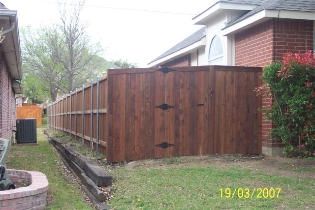 Wood Gate Fort Worth Tx Asap Fence